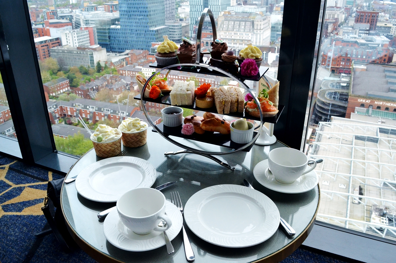 cloud 23 hilton manchester afternoon tea easter menu