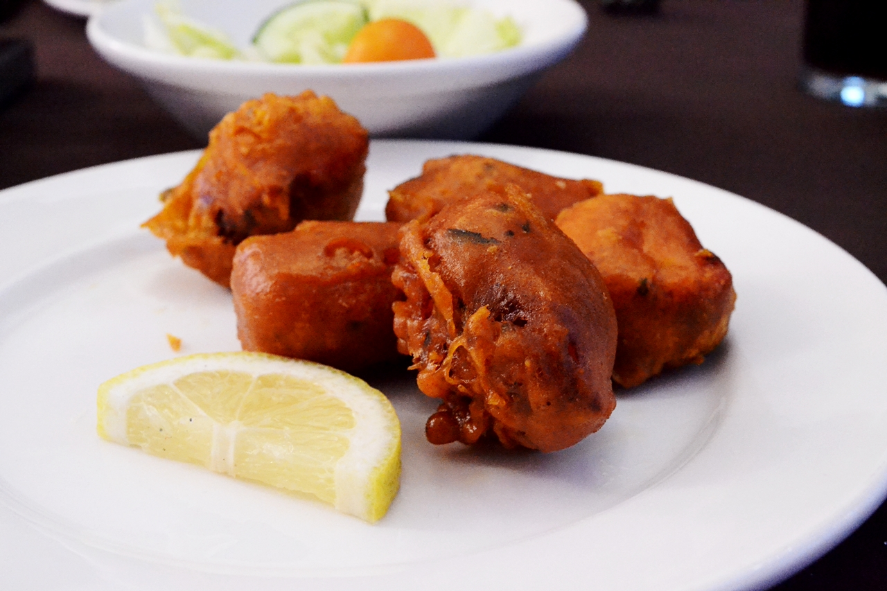 tandoori chicken pakora purple lounge