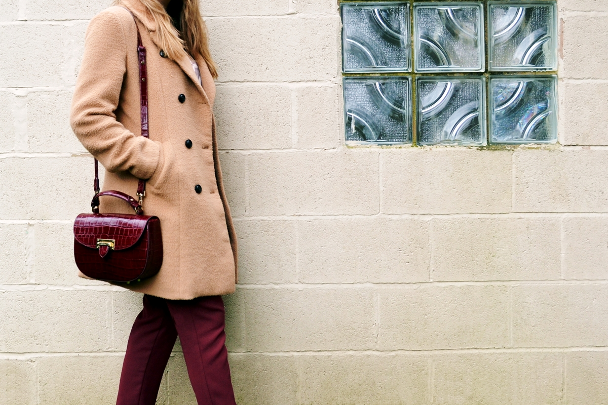 Trend Editorial: Pink Spring Tailored Chic glamorous pea coat