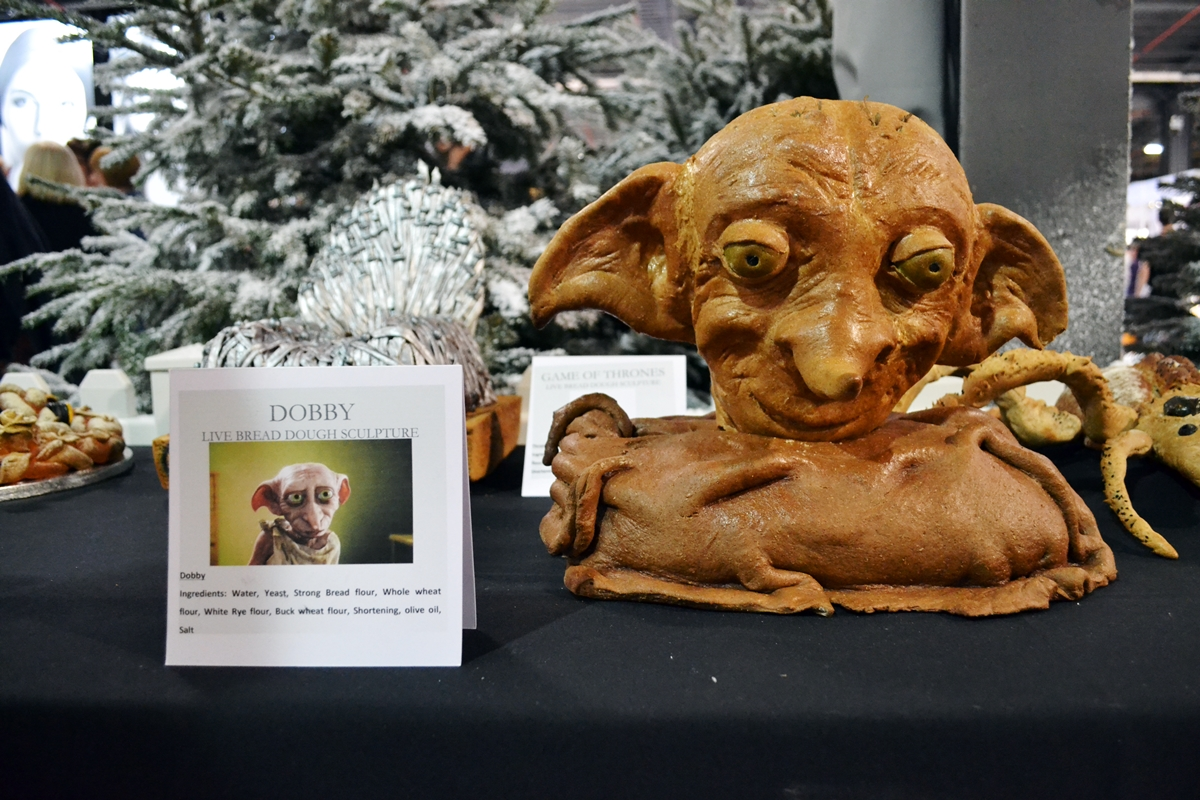 cake and bake show event city manchester 2016 dobby harry potter cake