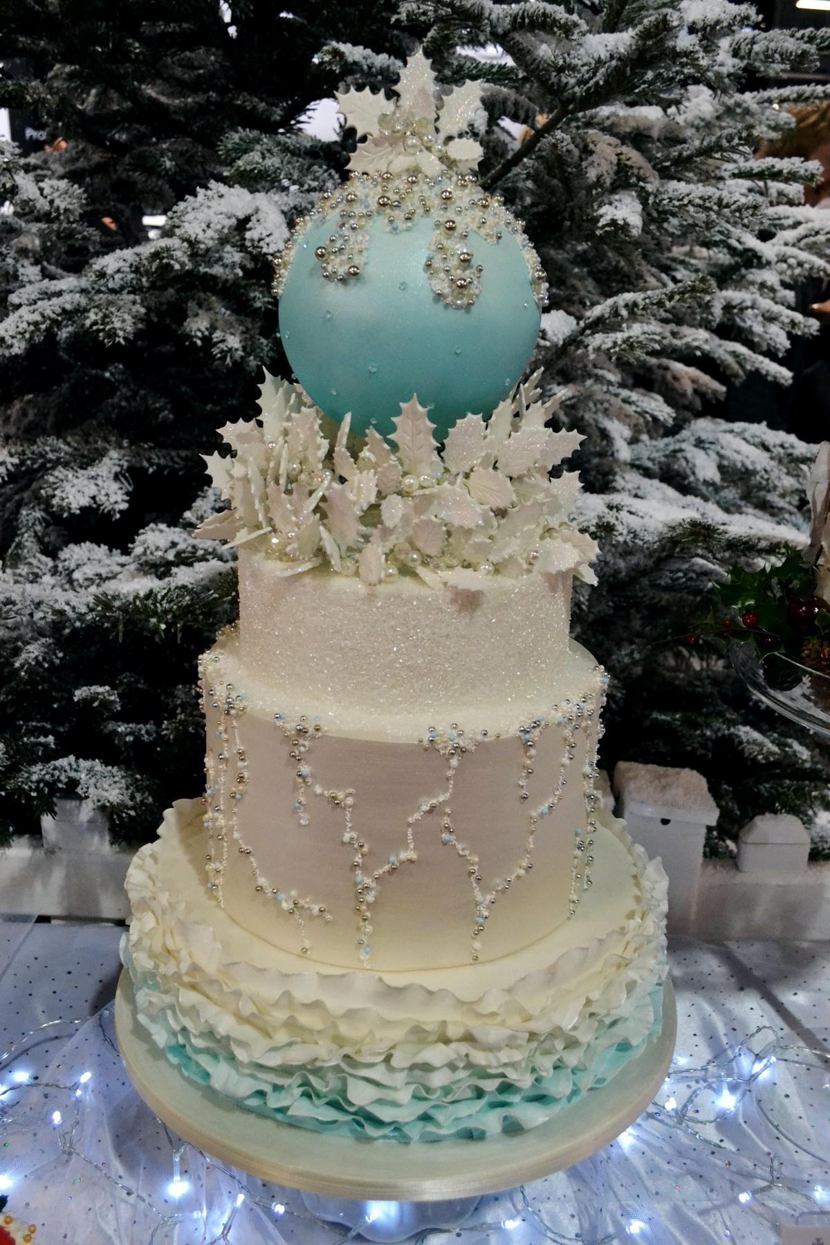 cake and bake show event city manchester 2016 wedding cake