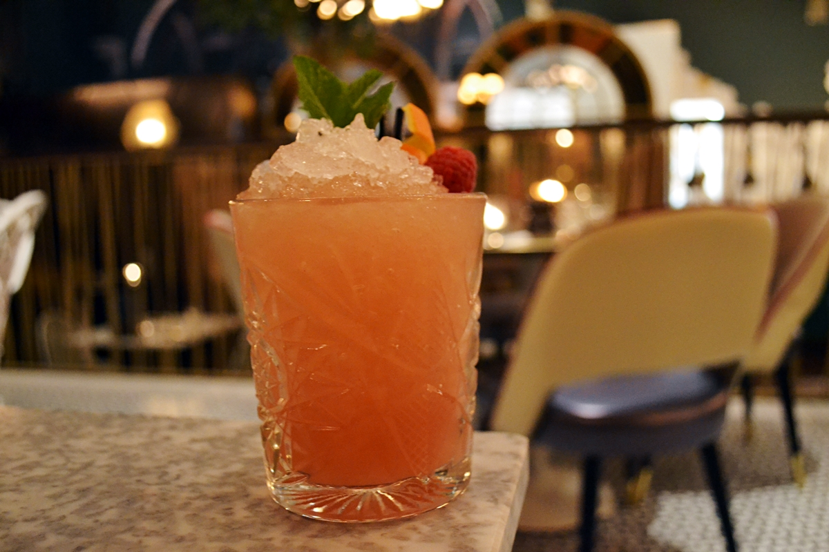 kentucky peach smash the lost and found knutsford cocktails