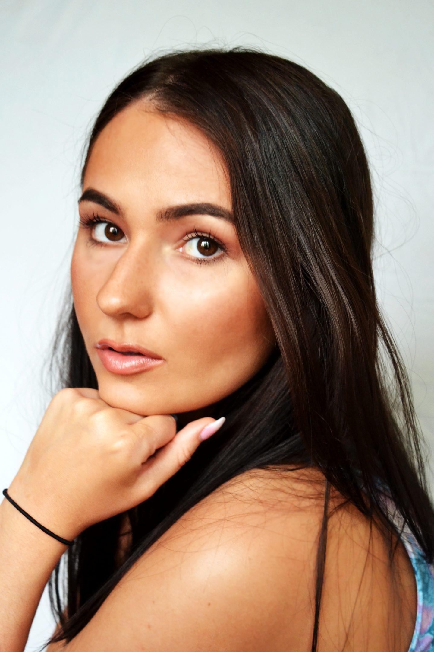 summer tan brown make up beauty magazine