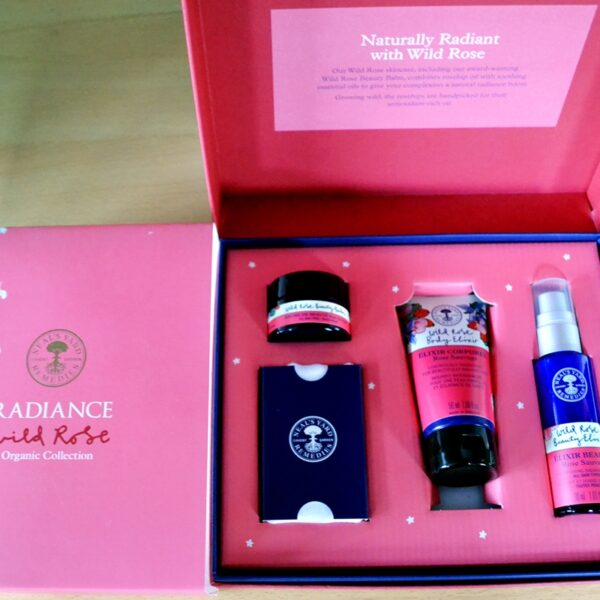 Christmas Competition #8: Win Radiance Wild Rose Set from Neal's Yards Remedies