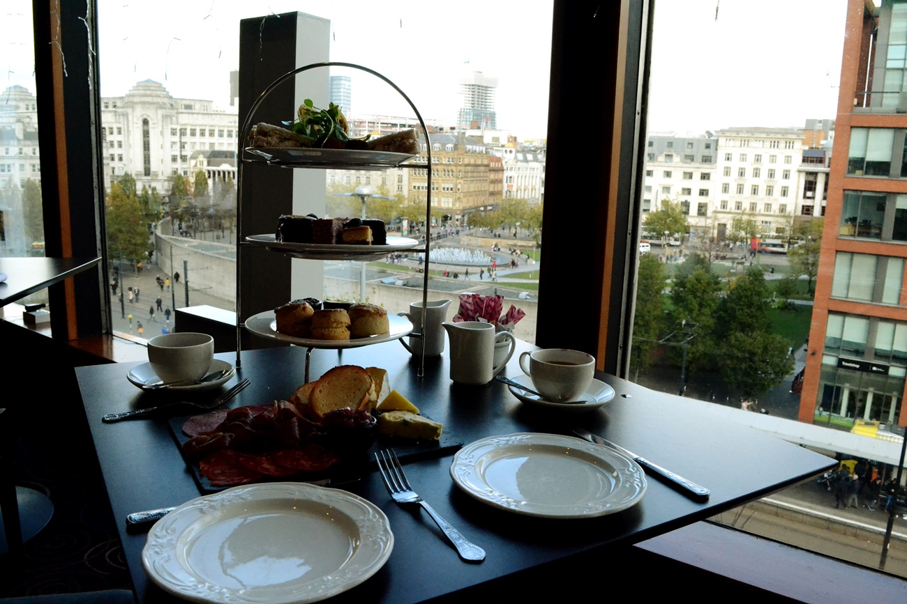 mercure afternoon tea manchester picadilly gardens