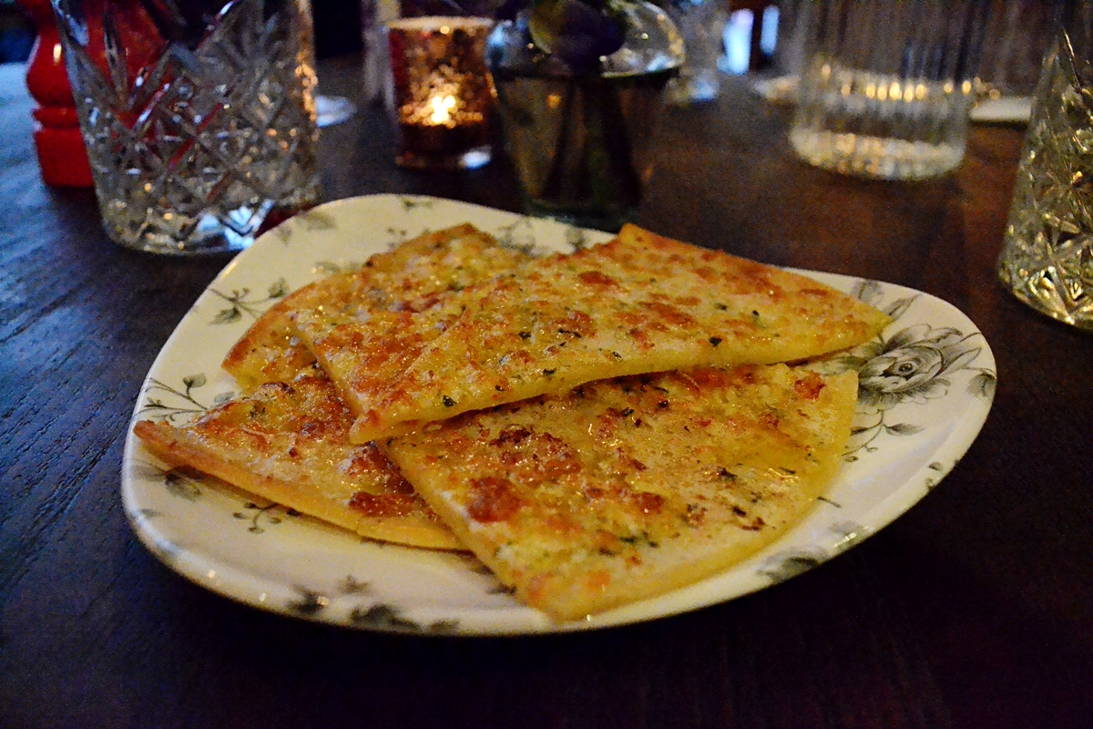 garlic bread cheese eden manchester