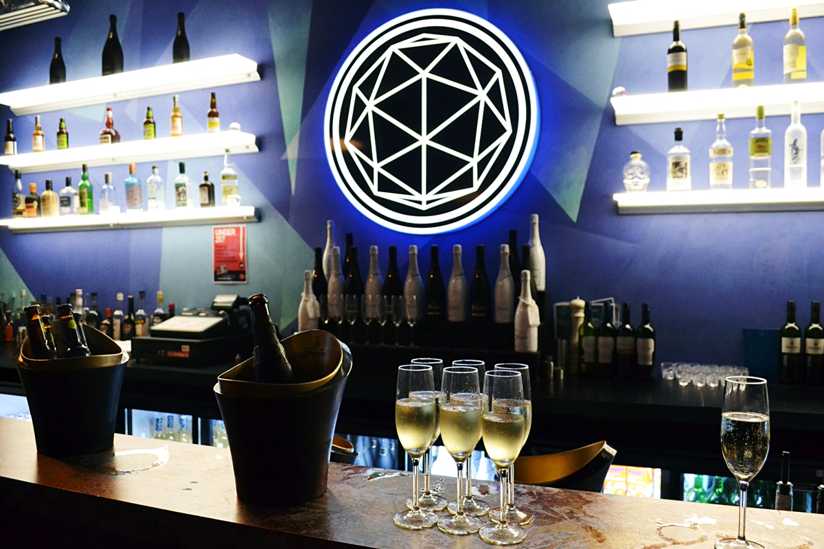 the crystal maze bar area london white lion experience