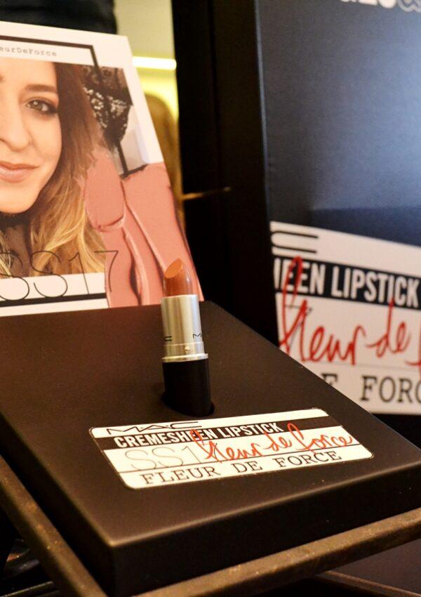 MAC launch new Lipstick with Fleur De Force at Selfridges