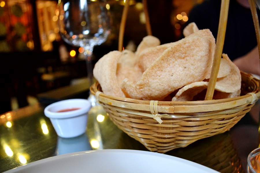 chaophraya starter prawn crackers thai manchester