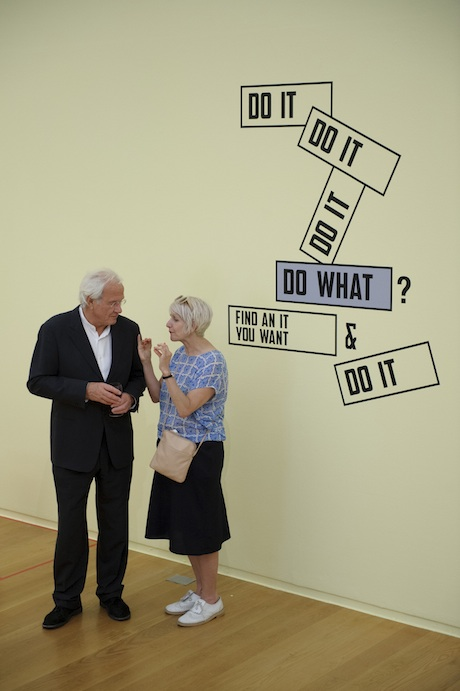 Do It 20 13,  Lawrence Weiner