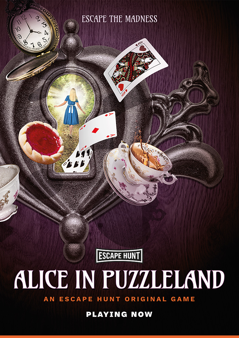 escape hunt alice in wonderland