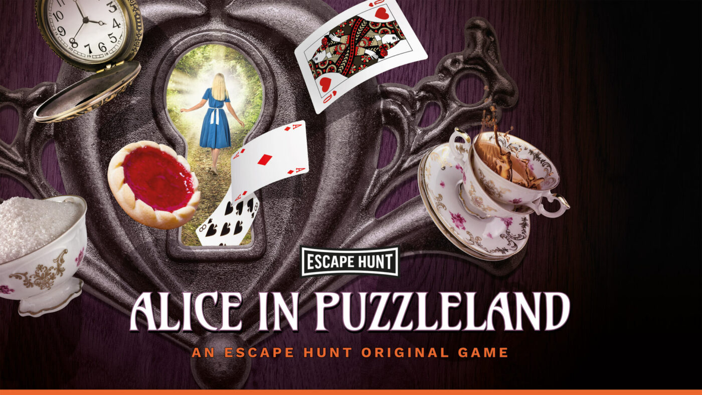 Escape Hunt launches 'Alice in Puzzleland'