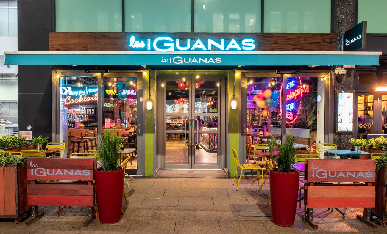 Las Iguanas debuts new decor