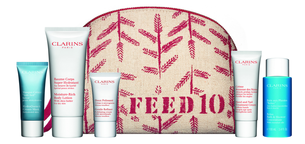 Clarins Feed Projects Feed 10 cosmetics bag