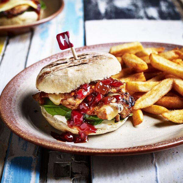 nandos manchester picadilly fino sunset burger