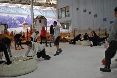CHILL FACTORe BOOTCAMP ON SNOW
