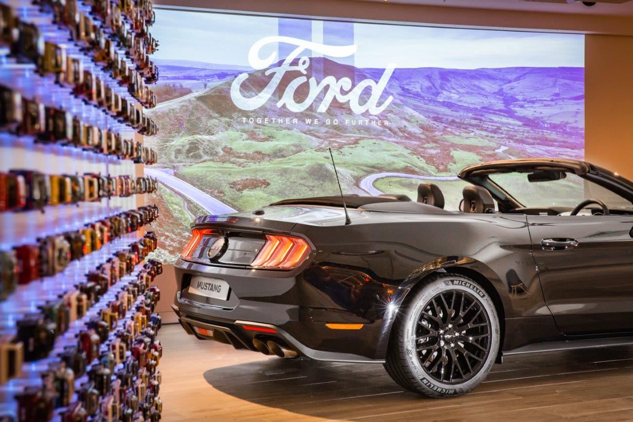 You can now browse cars as you clothes shop at the Arndale