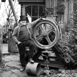 Fred Dibnah by Paul Wolfgang Webster