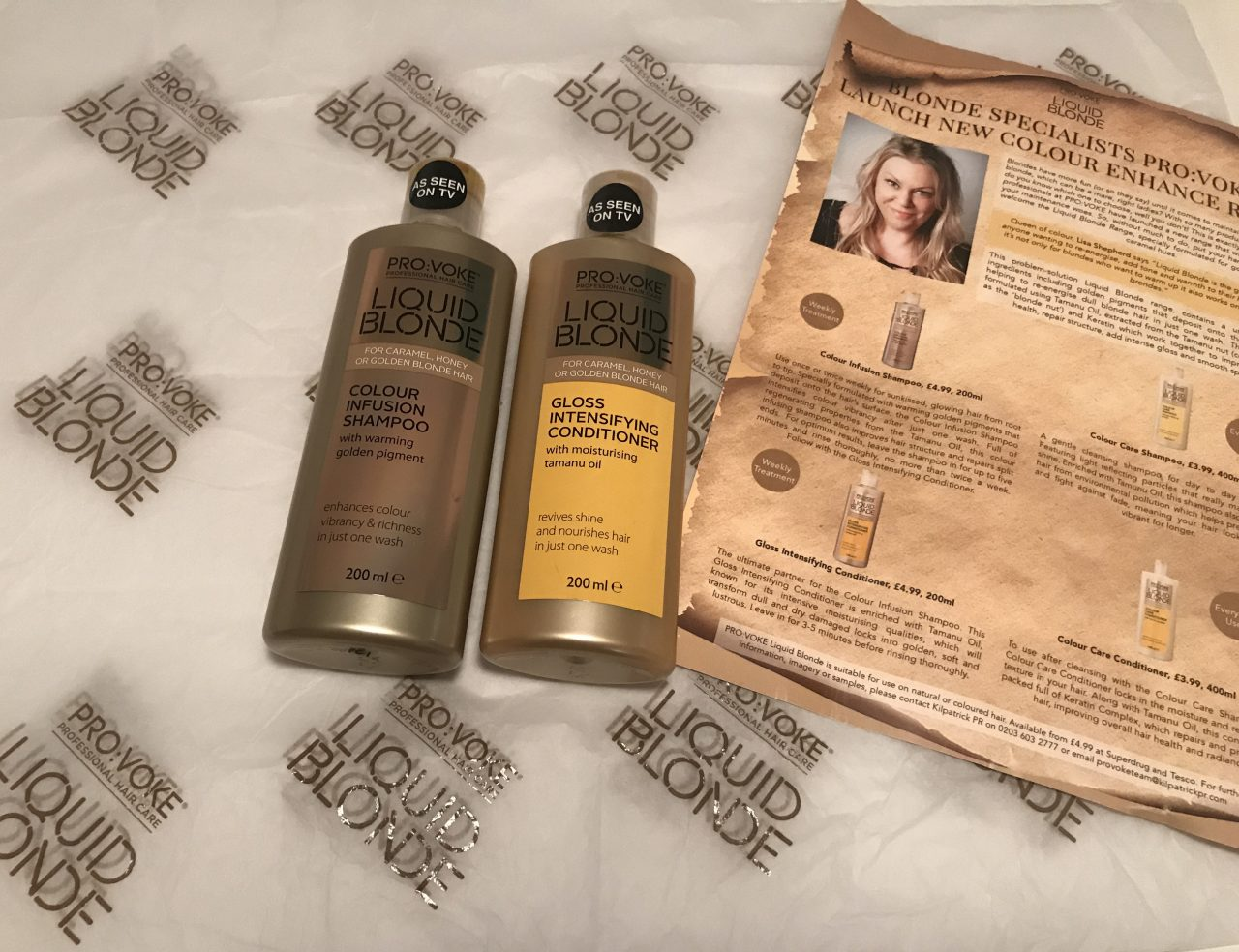 Provoke Haircare Liquid Blonde Shampoo Review