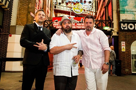 Fun Lovin' Criminals Huey at The Printworks