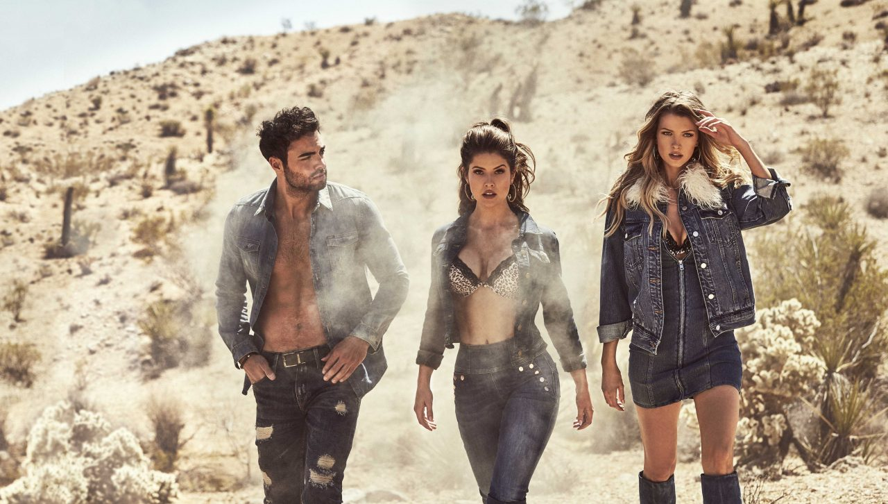 guess jeans aw18 collection