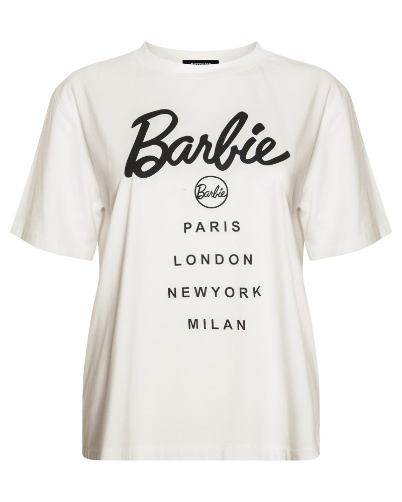 Missguided Barbie Logo T Shirt