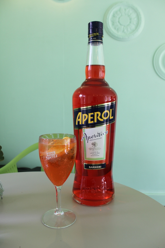 Aperol Spritz at IN Bloom, Spinningfields