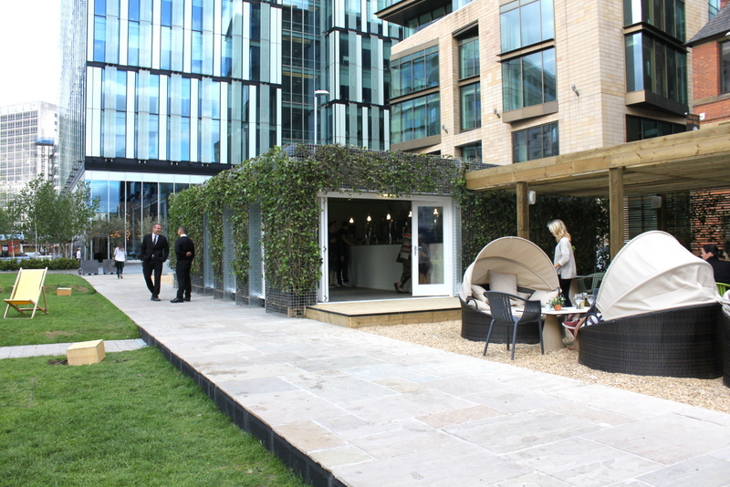 IN Bloom, Spinningfields - exterior