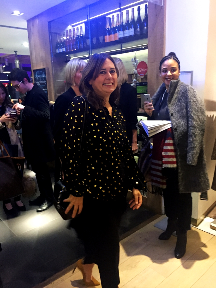 Alexandra Shulman of British Vogue 'In Conversation' at Selfridges Manchester outfit