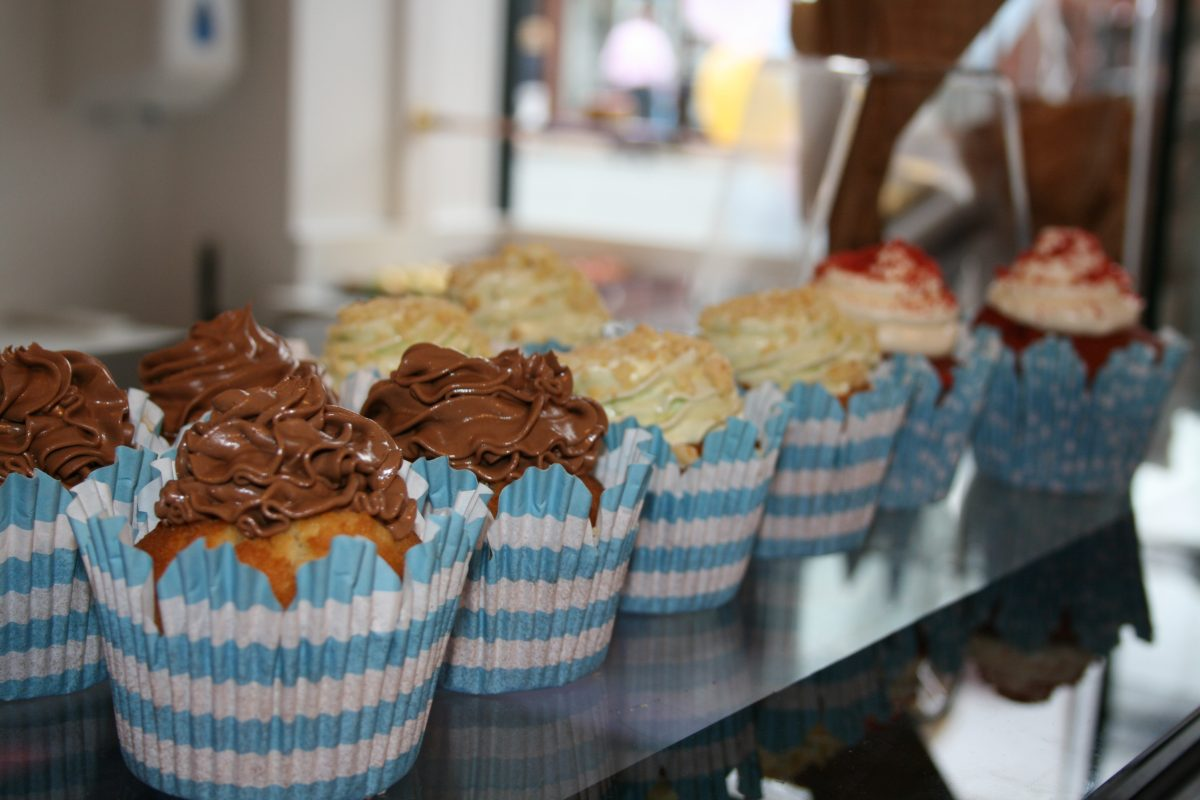 cafe food meets fashion influence cupcakes manchester