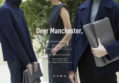 Zara Manchester is Back
