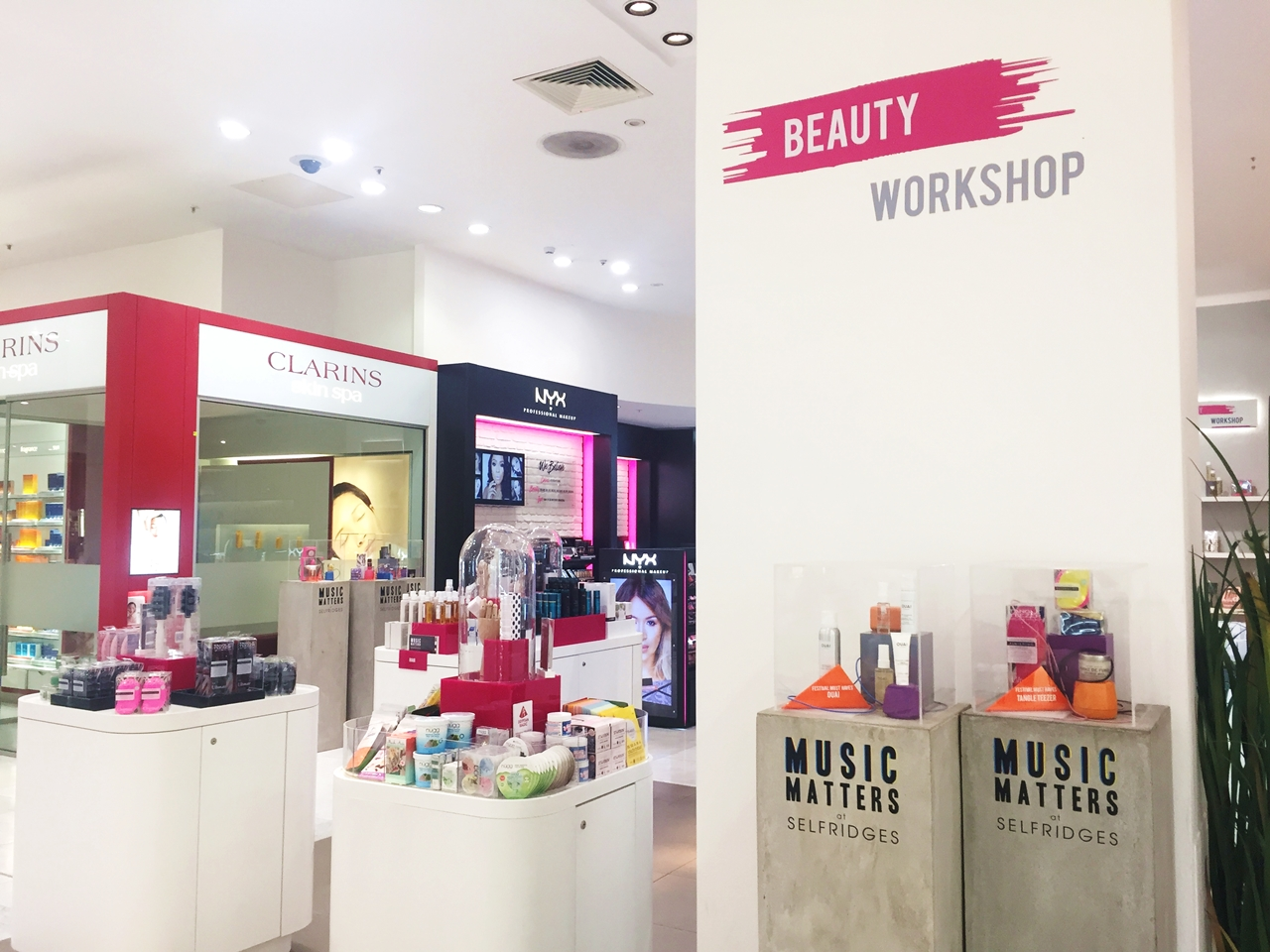 Selfridges Beauty Workshop opens at Trafford Centre