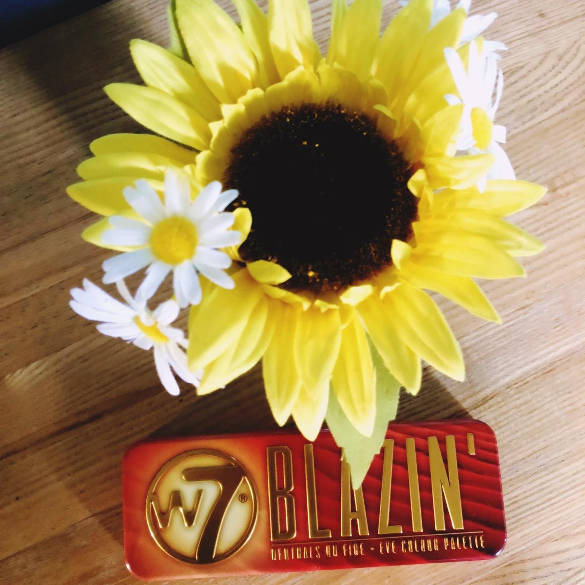 w7 cosmetics blazin image