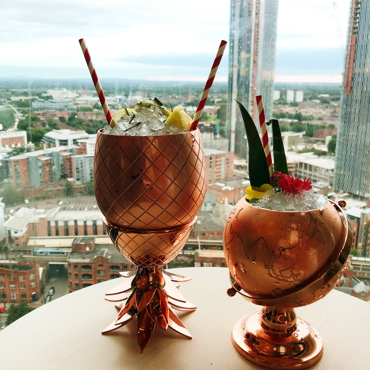elyx copper absolut cups cocktails