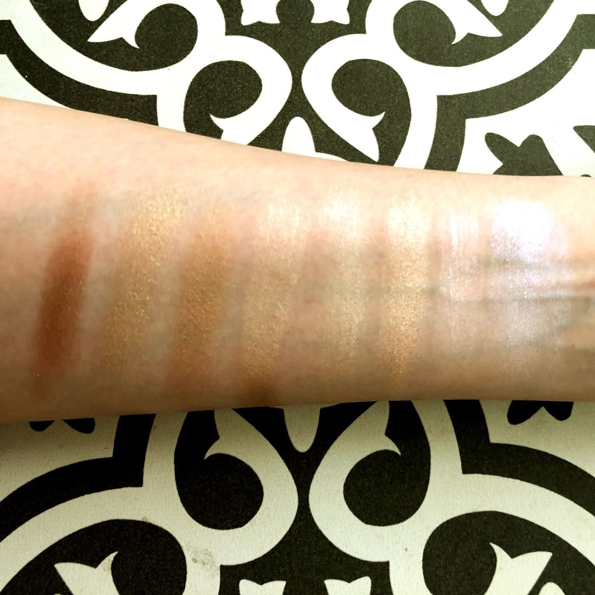 mmmmitchell bperfect colour cosmetics swatches
