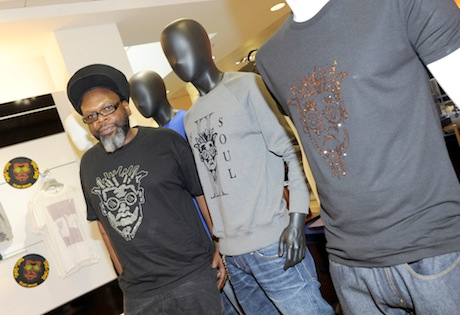 'Back to Life. . Back to Fashion' Soul II Soul's Jazzie B launches clothing range at Harvey Nichols