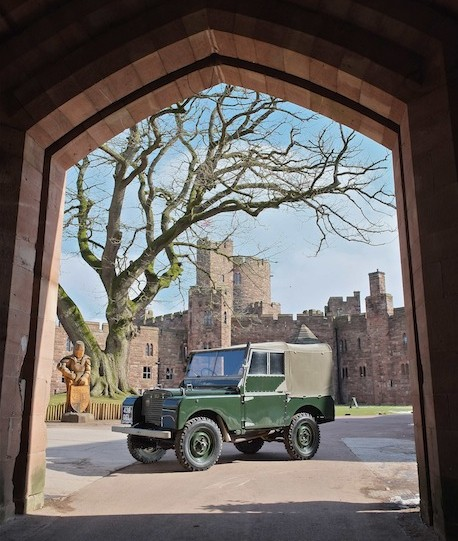 Exciting addition to Peckforton Castle's Land Rover Experience