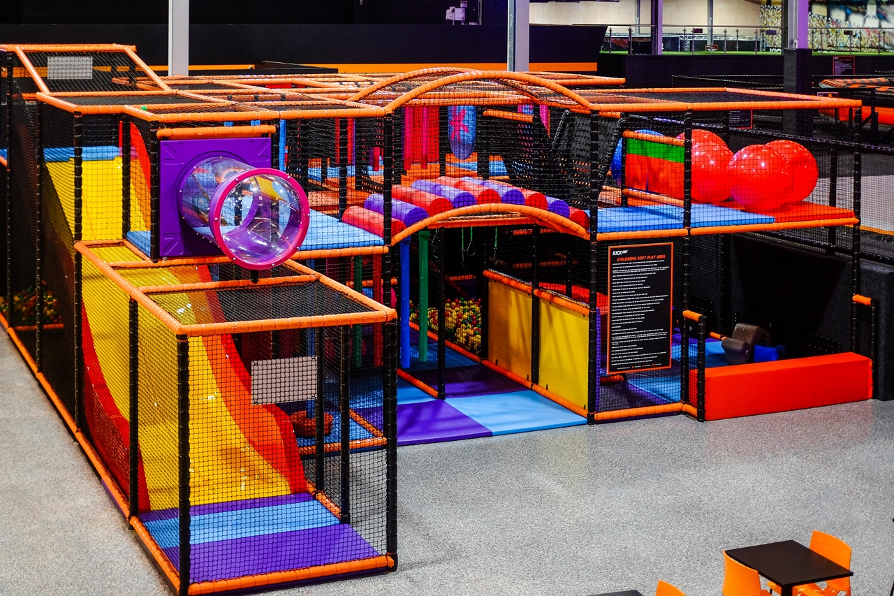 kids play area kickair manchester