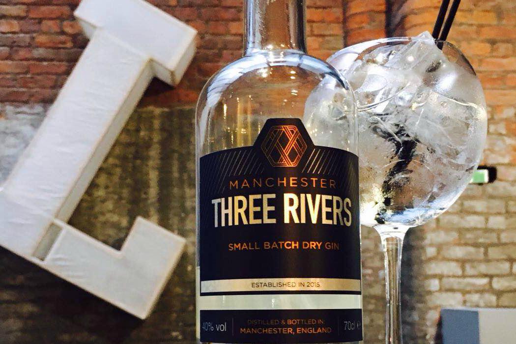 Manchester Three Rivers Super Premium Gin