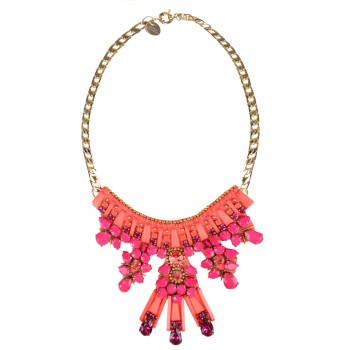 MATTHEW WILLIAMSON Clustered Jewel Chain Necklace £395.00 915014
