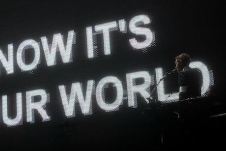 Massive Attack V Adam Curtis. Image by James Medcraft