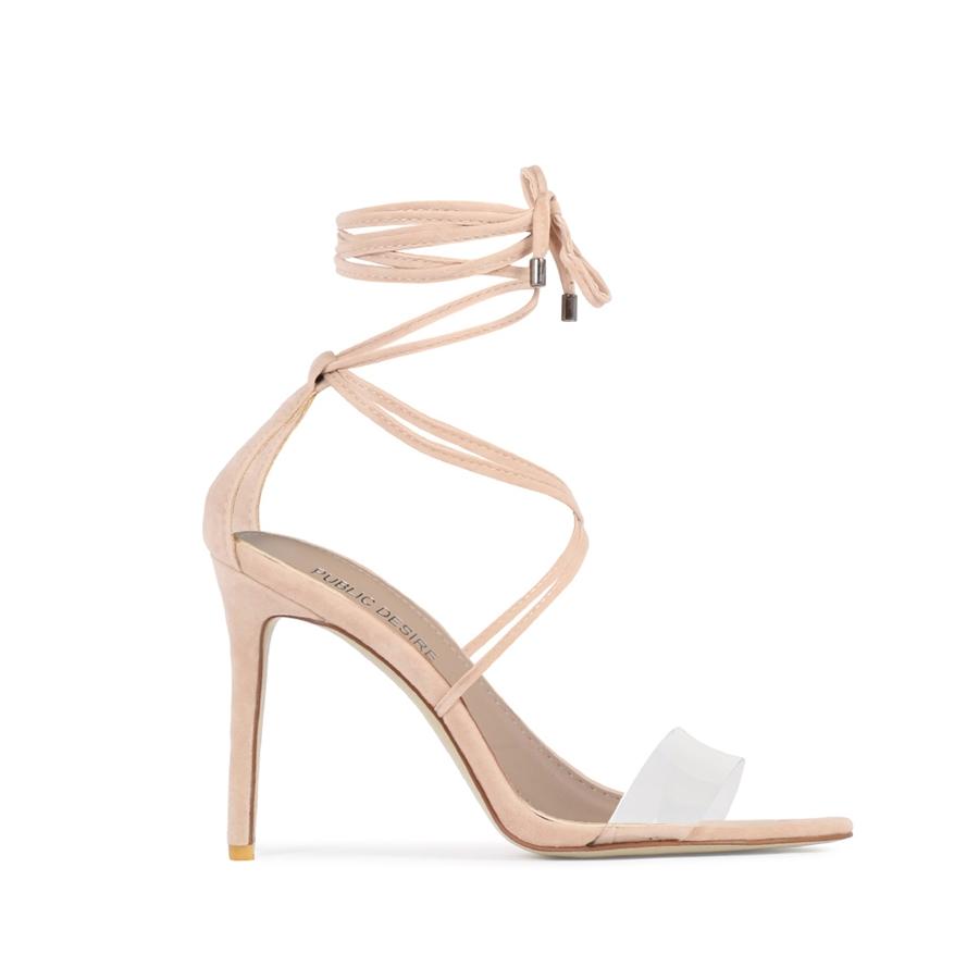 Public Desire x Hailey Baldwin rome heels