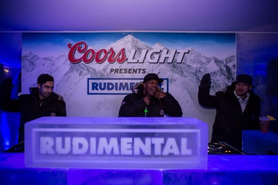 Coors Light Ice Bar in Manchester for One Week Only!