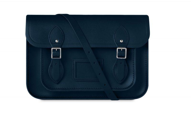 cambridge satchel navy blue