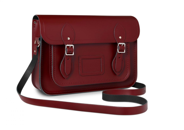 cambridge satchel strap bag review