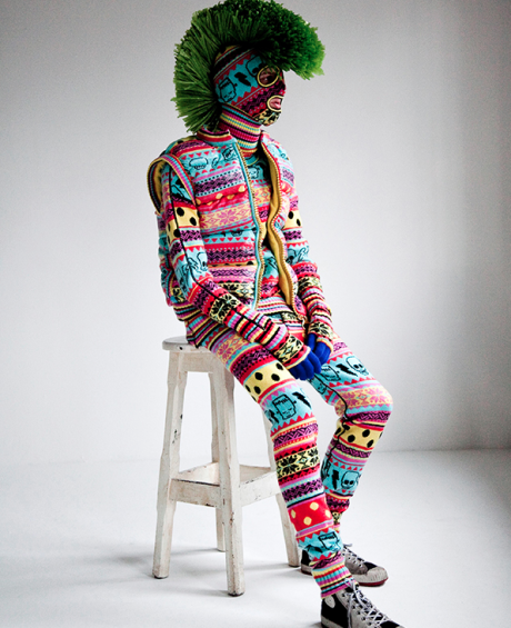 Knit Monster, photo by Thomas Giddings