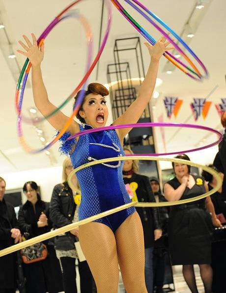 Selfridges Exchange Square - Big Beauty Bang - The Amazing Marawa, Hula Hoop Girl