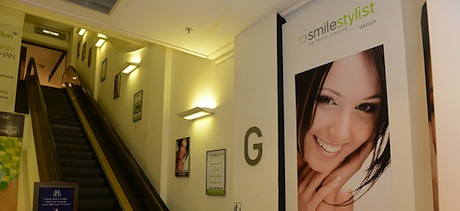 Smile Stylist Entrance