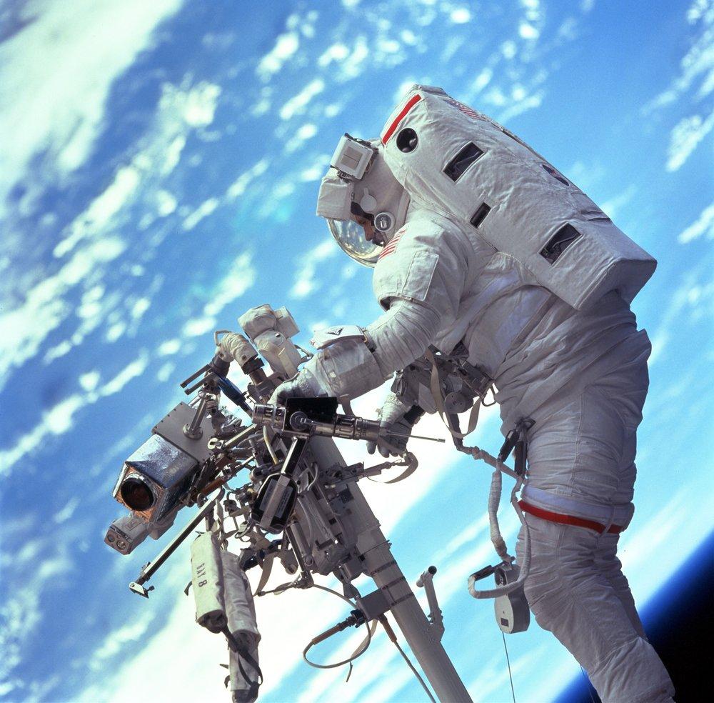 astronaut on mission