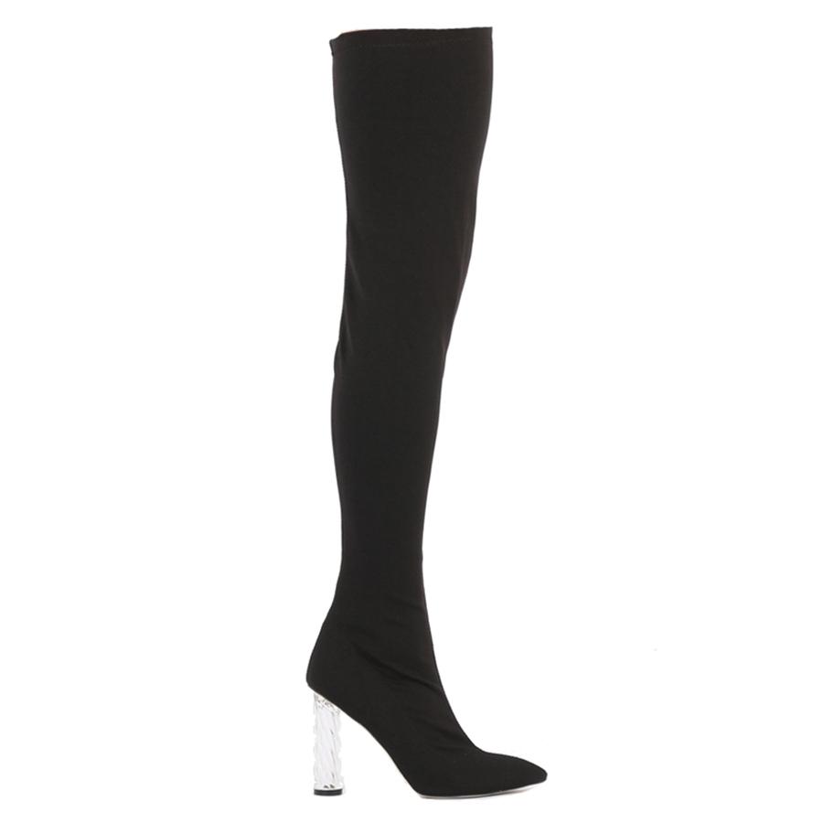 Public Desire x Hailey Baldwin Tokyo Knee High Boots